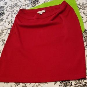 St John Designer Knit Skirt